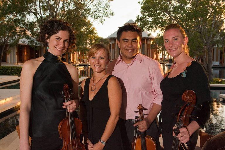 String quartet Turks & Caicos