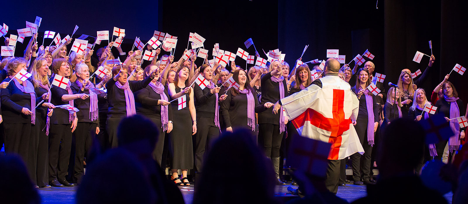 Choiroke 2016 concert at Dorking Halls