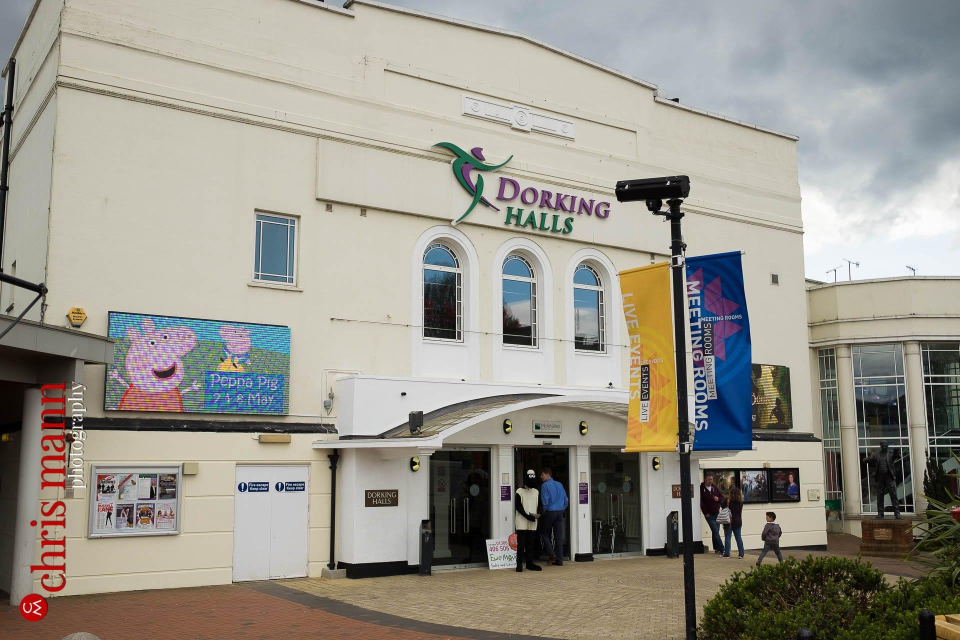 Dorking Halls Choiroke 2016 concert venue
