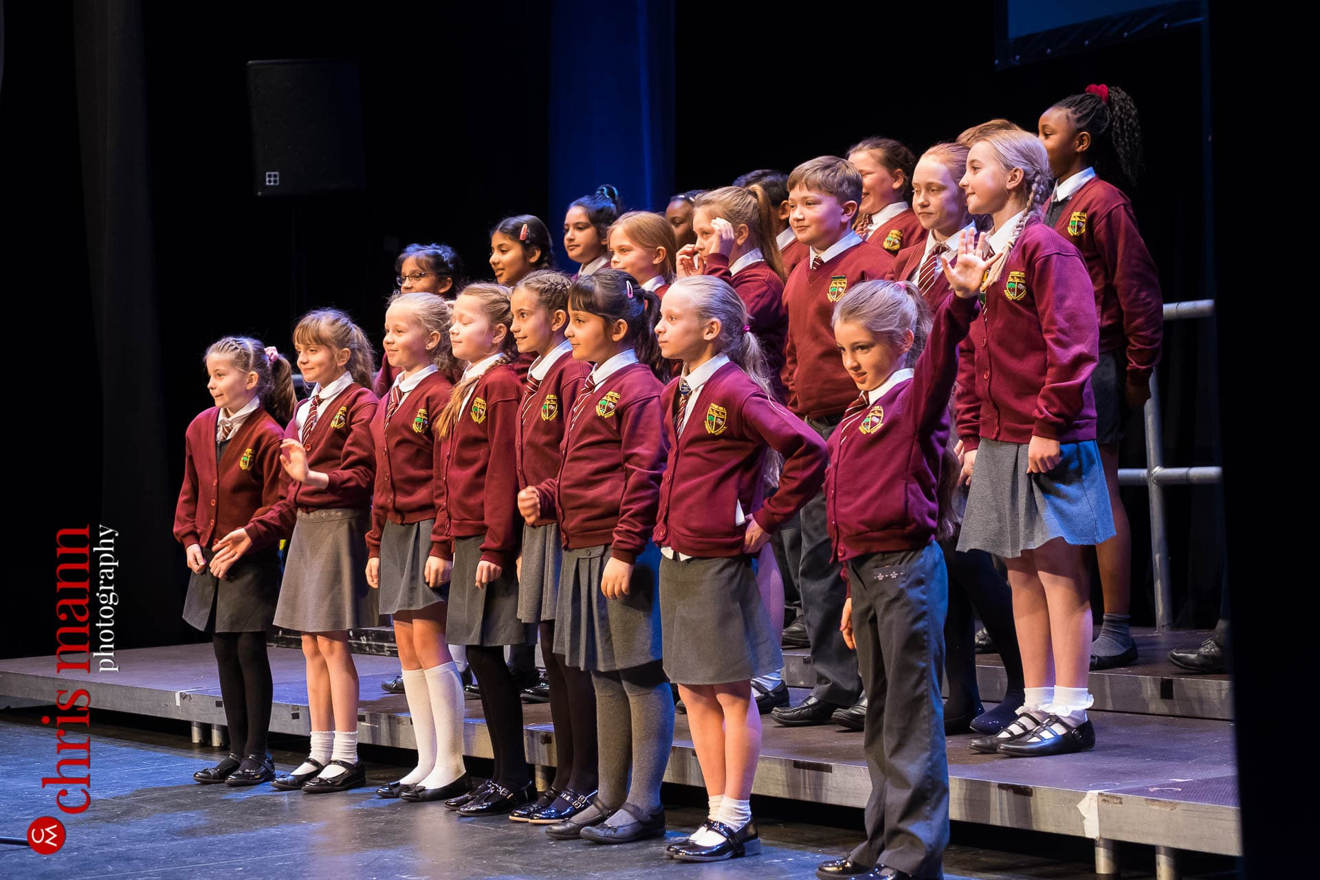 Pound Hill Junior School pupils perform at Choiroke 2016 concert Dorking Halls