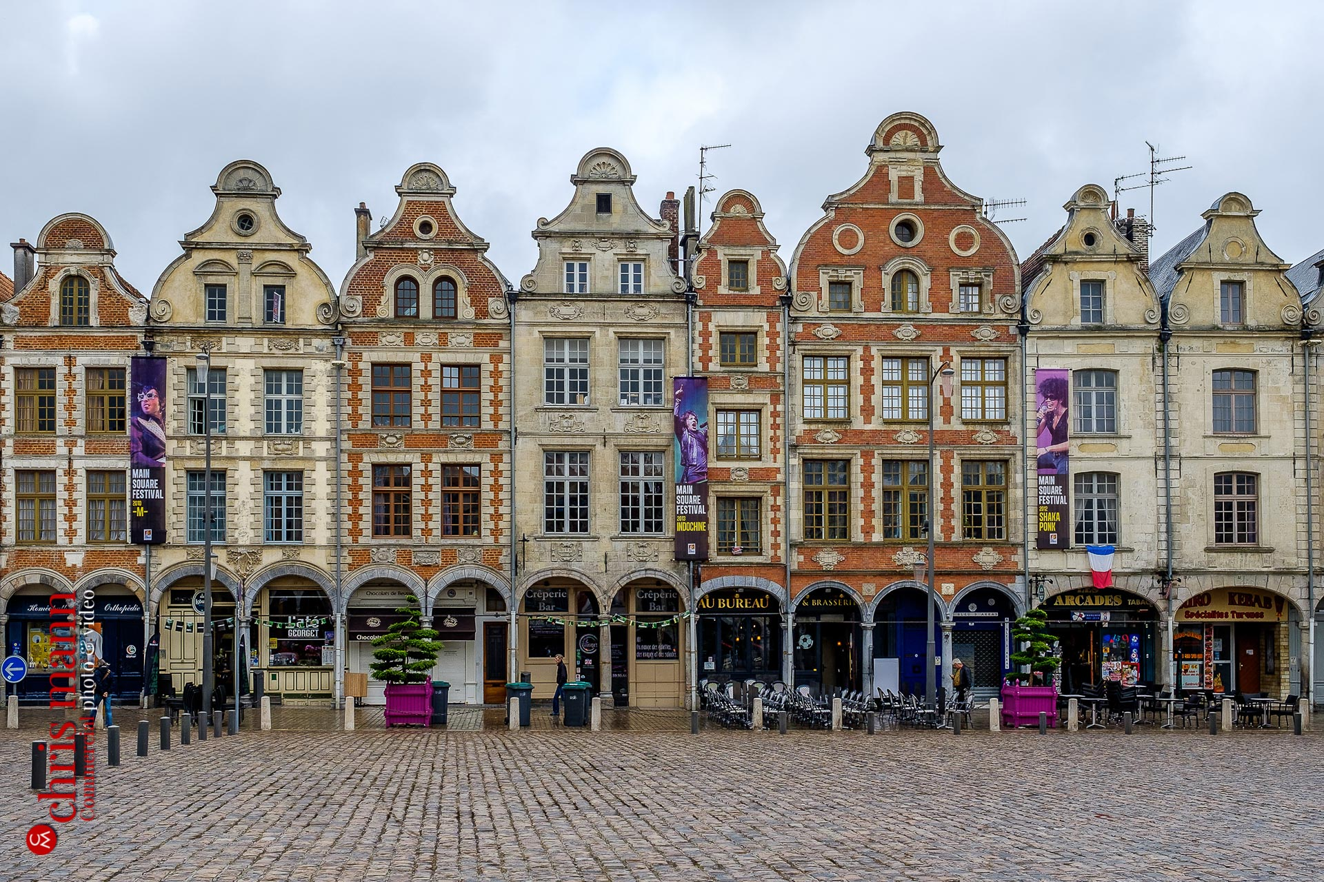 Place des Héros Arras France