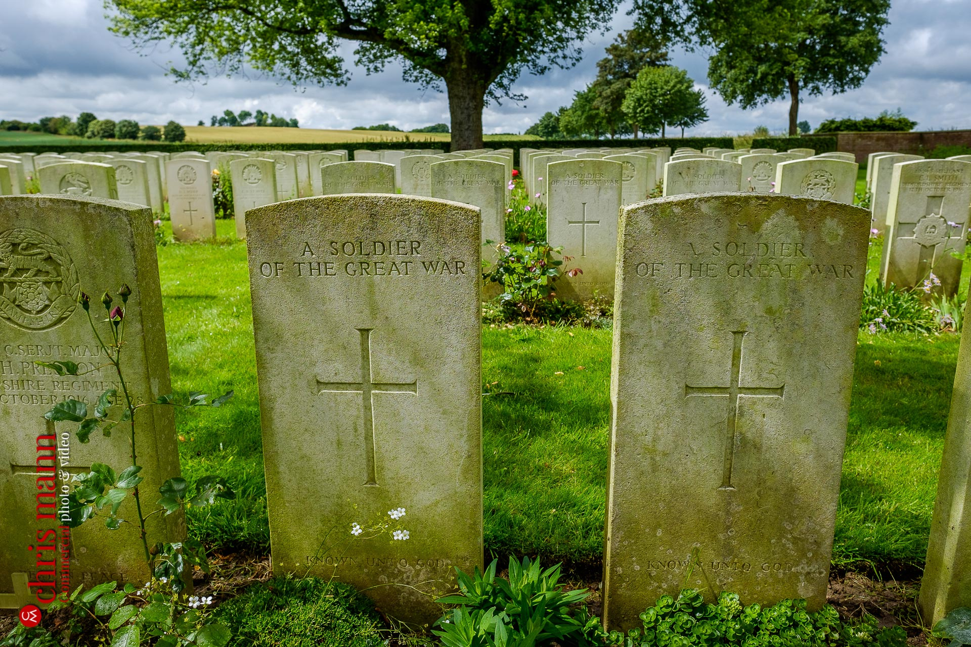 Warlencourt British Cemetery First World War Bapaume France