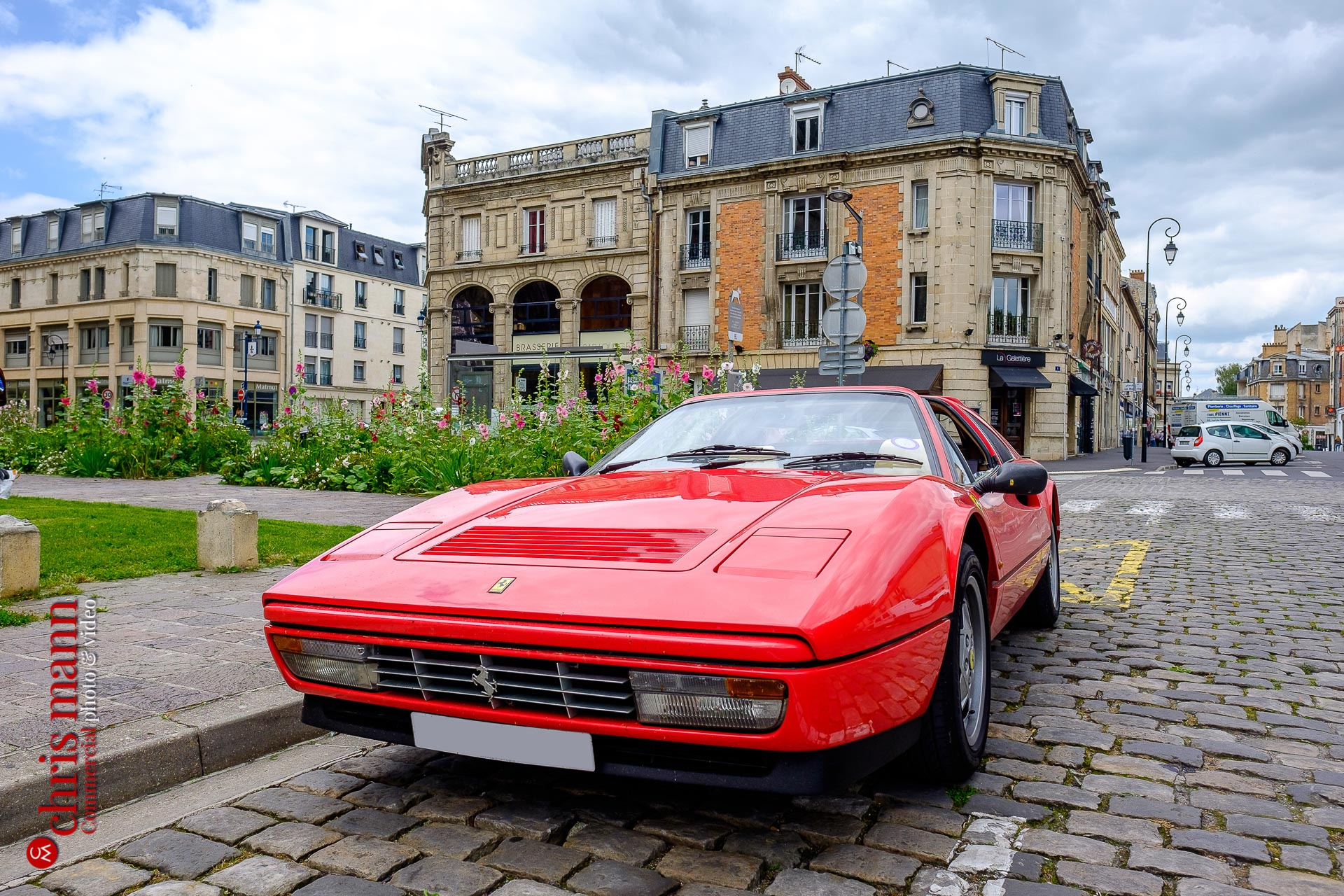 Ferrari 328 GTS Targa in Soissons Picardy France