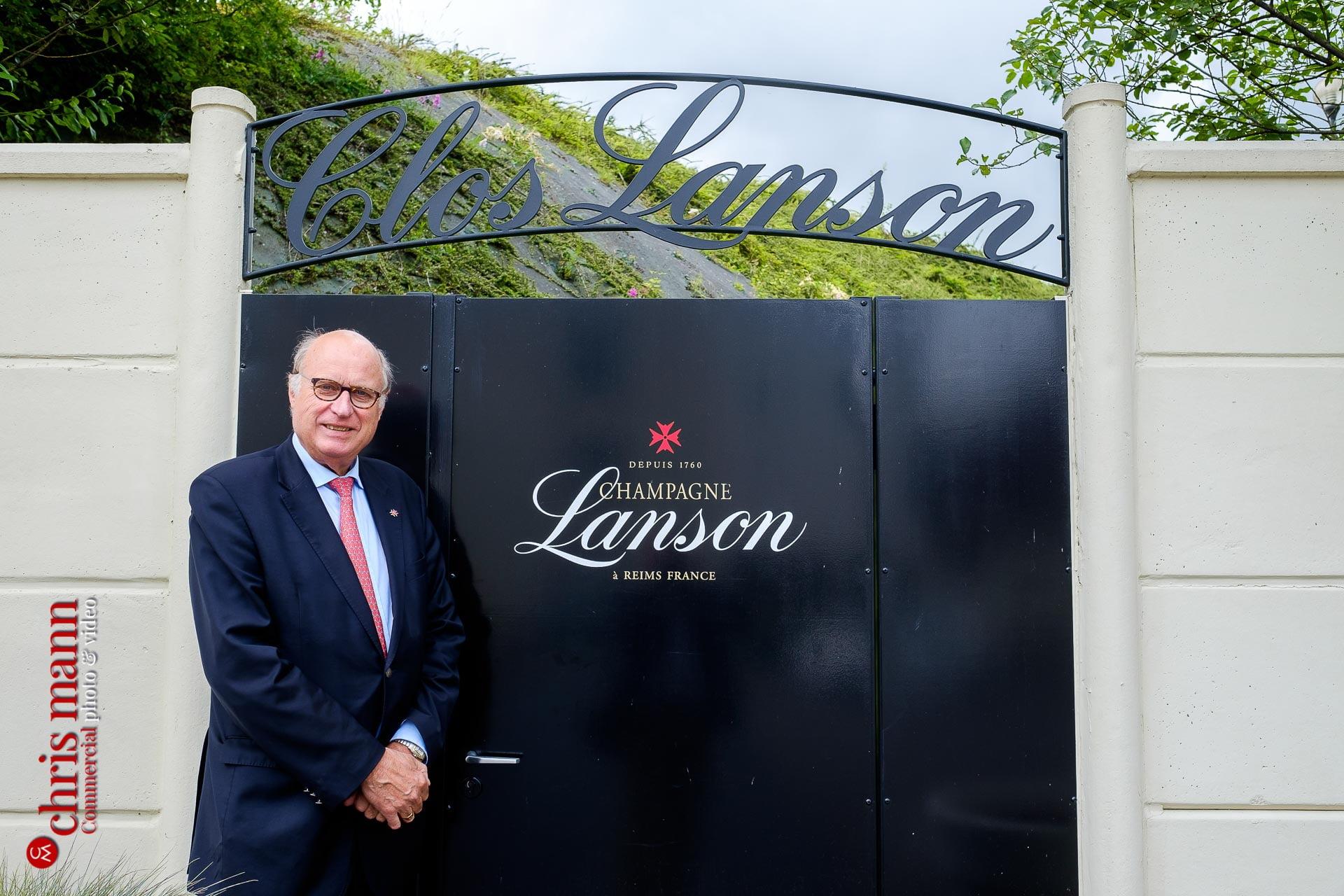 Lanson CEO Philippe Baijot