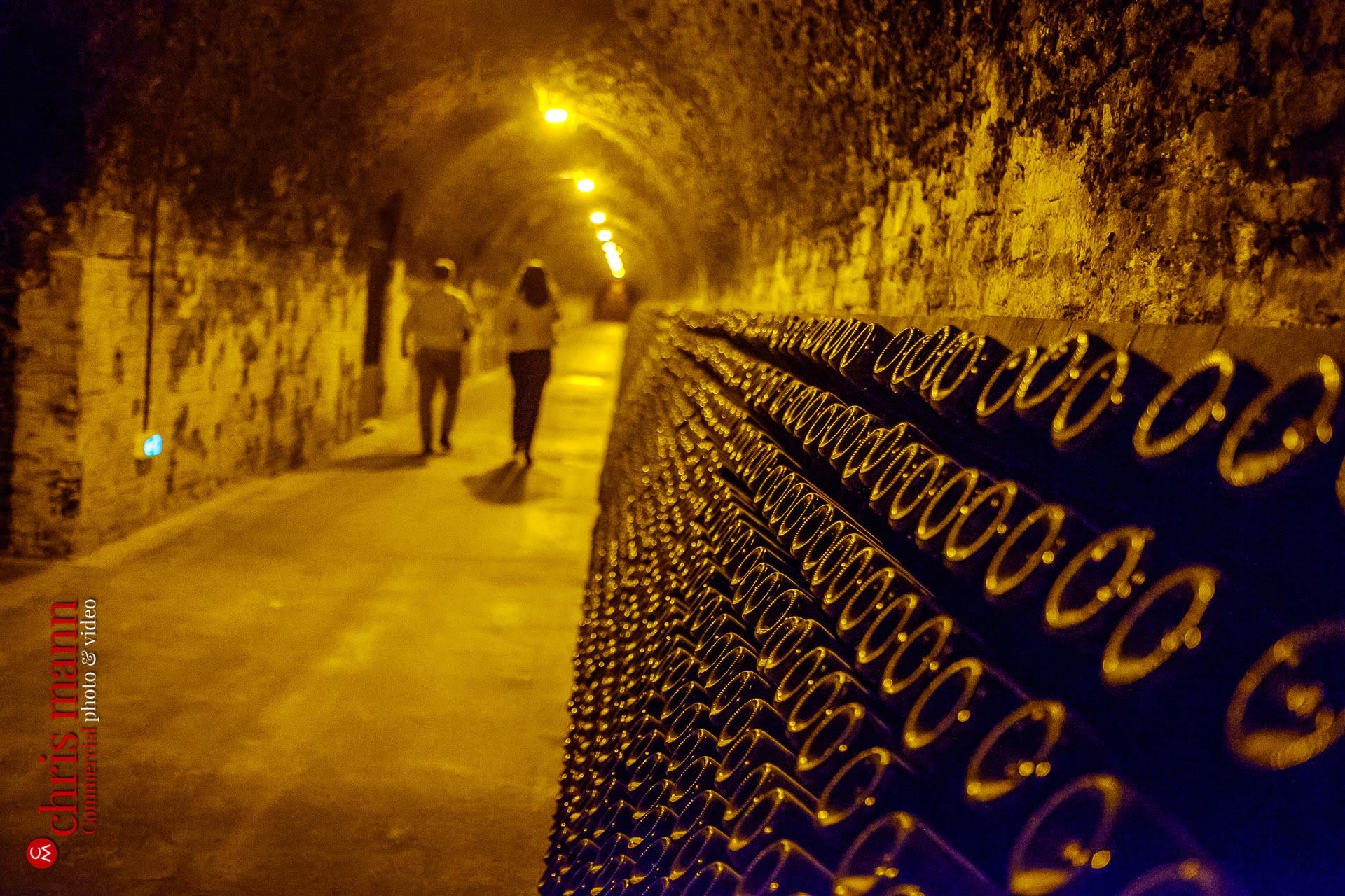 Lanson champagne cellars