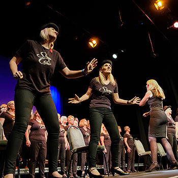 Singers perform at Choiroke 2017