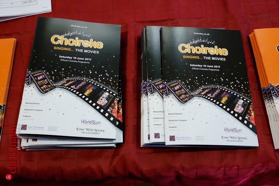 concert programmes for Choiroke 2017 concert | Harlequin Redhill