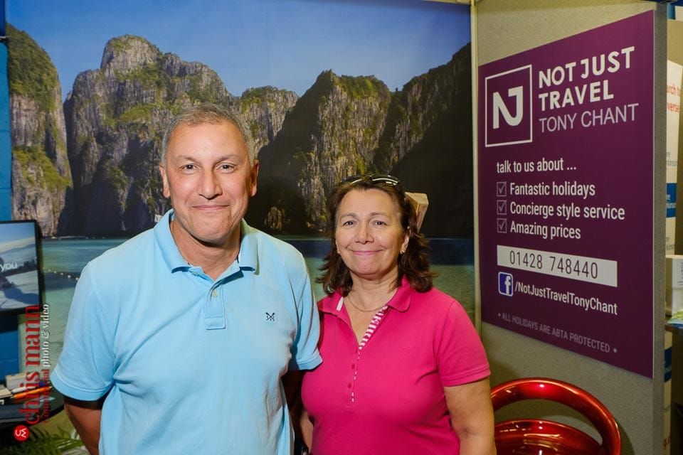 Tony Chant - Not Just Travel - Surrey Business Expo 2018 photos