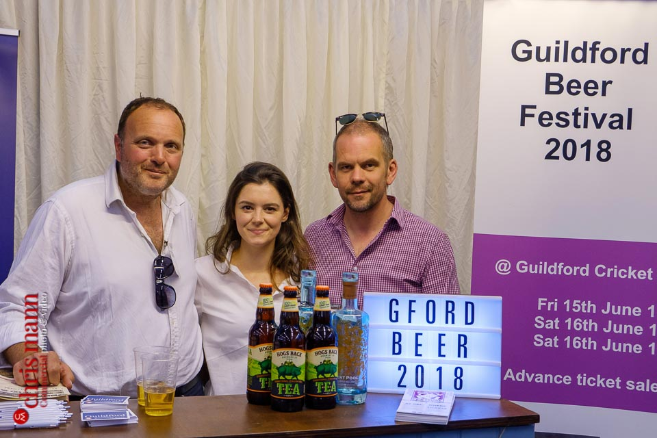 Steve Page (right) - Guildford Beer Festival & Event Partnerships - Surrey Business Expo 2018 photos