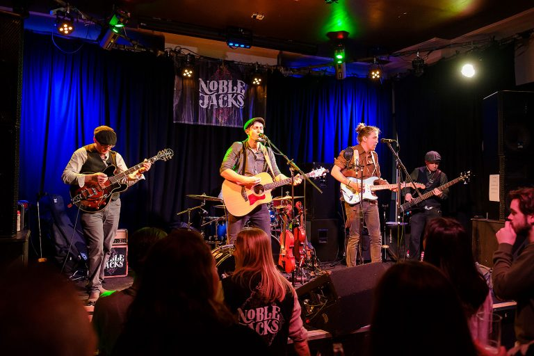 performers Noble Jacks band live at The Star Guildford Chris Mann Photography