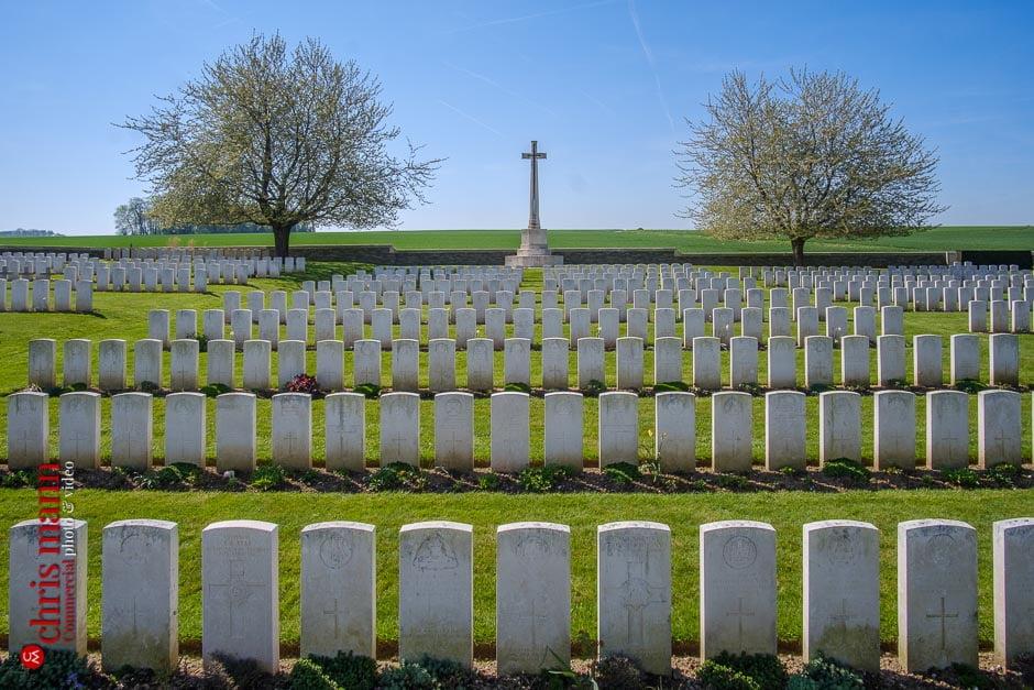 Crouy cemetery, Amiens, Aisne, France