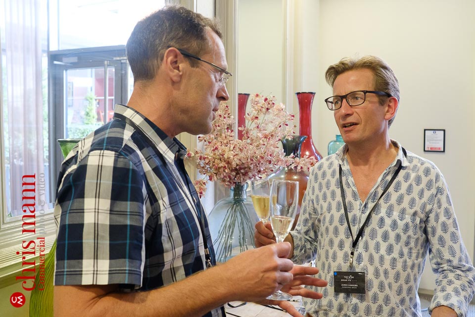 discussion about English wine at workshop seminar conference