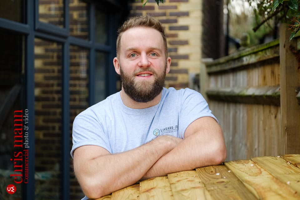 Guildford craftsman portraits - handyman Will Lingard