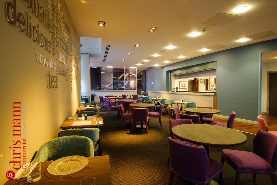 Mercedes Benz World restaurant relaunch - interior view