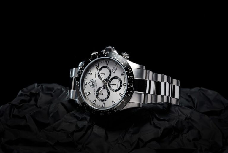 Christophe Duchamp Grand Mont steel men's watch promotional image