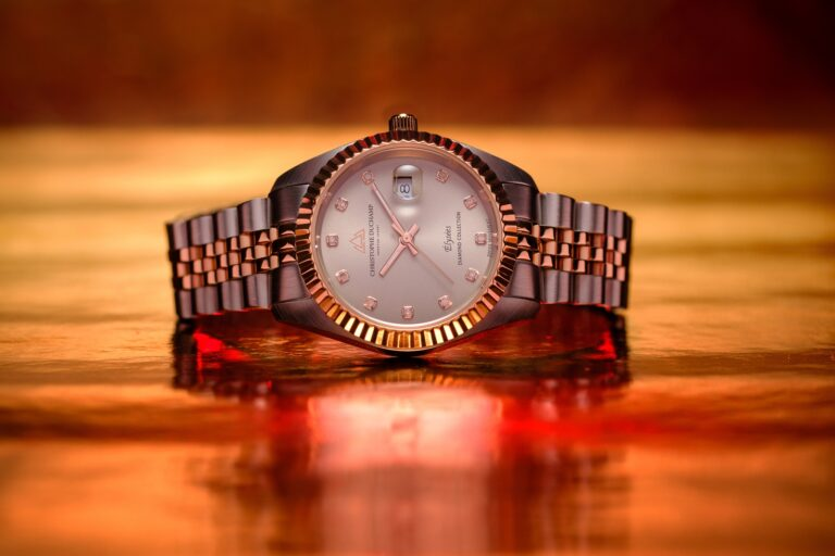 Christophe Duchamp Elysee women's steel and rose gold watch promotional image