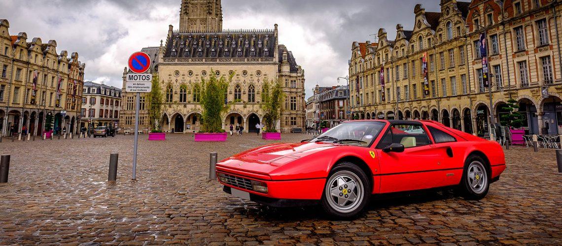 Ferrari Champagne Road-Trip